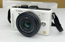 Panasonic LUMIX DMC-GF1 12.1MP Digital Camera with ASPH 20mm Lens - White