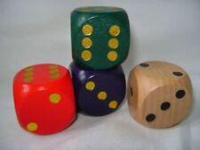 Juegos de mesa de color principal verde de madera