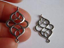 10 celtic knot charms pendant beads tibetan silver antique wholesale UK R67