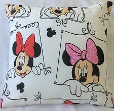 Minnie Mouse Handmade cushion cover/ pillow case 16 inch x 16 inch