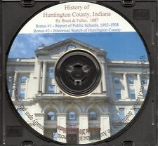 Huntington County Indiana History + Bonus Book