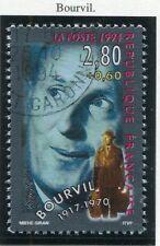 TIMBRE FRANCE OBLITERE N° 2900 BOURVIL / Photo non contractuelle