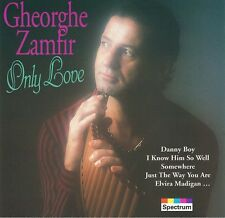 GHEORGHE ZAMFIR-only love-CD Neuf-Habanera-Danny Boy-Memory