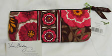 Vera Bradley CARNABY BRUSH & PENCIL Cosmetic CASE for PURSE Tote BACKPACK  NWT