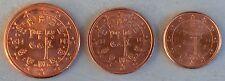 1+2+5 Euro Cent Portugal 2009 unz.