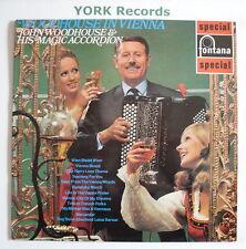 JOHN WOODHOUSE & HIS MAGIC ACCORDIAN - In Vienna - Ex Con LP Record SFL 13150