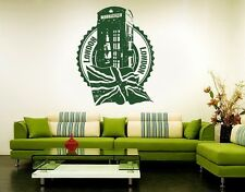 London Telephone Box - Highest Quality Wall Decal Stickers