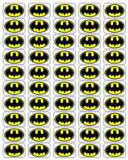 """50 Batman Envelope Seals / Labels / Stickers, 1"""" x 1.5"""""""