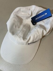 Mission Cool down Instantly Hat Cooling UPF 50 Sun Protection White