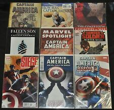Captain America Lot - 9 Misc Captain America Comics - (Grade NM) WH