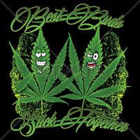 Best Buds Stick Together Marijuana Weed Kush Cannabis 420 Funny T-Shirt Tee