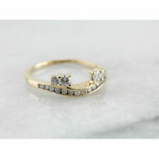 1.95 Ct Round Diamond Solitaire Enhancer Engagement Wrap Ring 14K Yellow Gold Fn