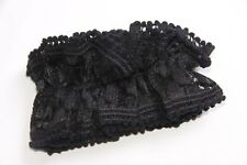 Ladies Black Lace Gothic Sexy Hair Band Thick Unique Brand New (S249)