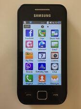 Samsung Wave 525 GT-S5250 con Carica Batterie e Adattatore per tutti schede sim