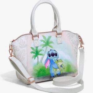 HOT Loungefly lion king & stitch collaboration shoulder bag ladies handbag