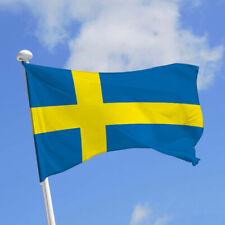 Drapeau SUEDE  / Suédois / SWEDEN / 145 cm X 90 cm / Livraison gratuite