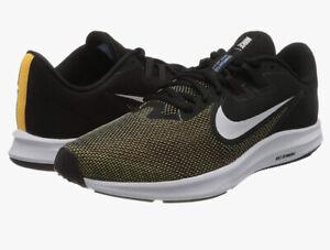 NEW-Nike Mens Downshifter 9 Running Shoes Laser Orange/White-Black Sz 15 -AQ7481