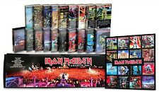 IRON MAIDEN - 20 used cassette tapes in a custom box set + discography magnets!