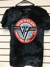Van Halen Mens Medium Tee Shirt Acid Wash Slim Fit T-shirt