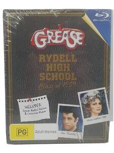 Grease Blu-Ray Ltd collector's Rockin Edition 2009 like new John Travolta