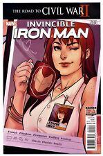 INVINCIBLE IRON MAN Vol.3 #10(8/16;1st)2nd RIRI WILLIAMS(IRON HEART)CGC IT(9.8)1