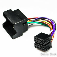 PEUGEOT 207 307 407 607 CITROEN Radio Adapter Kabel Autoradio ISO Quadlock