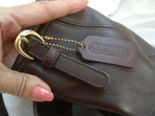 Coach No C8P-4108  Handbag Brown Solid Leather Shoulder Bag Purse or cross body