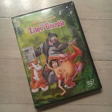 IL LIBRO DELLA GIUNGLA RARO DVD DISNEY 1a STAMPA WARNER - SIGILLATO