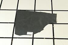 """""""Trapper's Cabin"""" Charcoal Gray Scrap Leather Hide Approx. 3.25 sqft. T17A17-7"""