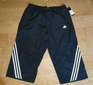 Adidas 3/4 Pants Shorts Fitness Running Gym Casual Z18641 UK Small (TT)