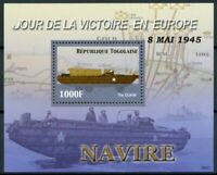Togo Military Stamps 2006 MNH WWII WW2 VE Day End World War II DUKW 1v S/S