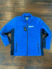 Nwt Steiner Optics Blue Fleece Zip-up Size Xxl by James & Nicholson