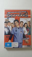 Scrubs - The Complete Sixth Season (4 Disc DVD) R4 - Eng, Italian, Frnch, German