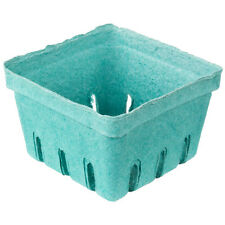 60 1 Pint Green Molded Pulp Berry / Produce Baskets 5 Dozen