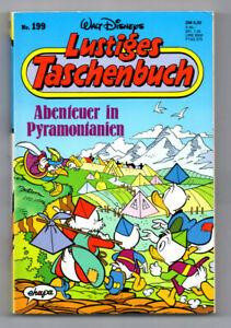 LTB 199 LUSTIGES TASCHENBUCH - DISNEY - MICKY MAUS - DONALD DUCK - DAGOBERT