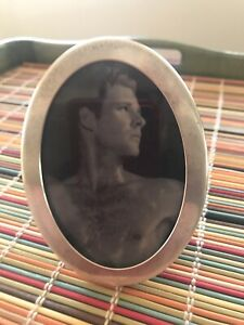 """TIFFANY & Co Sterling Silver .925 Oval Frame 4"""" x 3"""" Clean look-Reasonably $"""