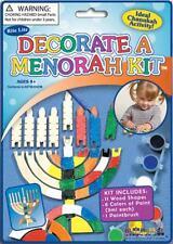 2 of Chanukah Hannukah Menorah Jewish Toy Holiday Kids Gift Set Wood Wooden