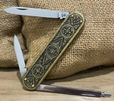 💎 KNIFE, COUTEAU Vintage Rostfrei GML Germany VERY NICE CONDITION 💎
