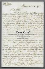 Dear Otto Lifelines Across the Atlantic During the Holocaust Learmonth 2008