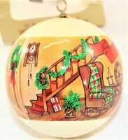 Sears Christmas Mementoes Ornament God Bless This House Vintage Free Shipping