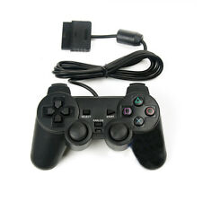 1X Wired Gamepad Joystick Double Shock Vibration Controller for PS2 Playstation2
