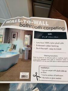 5' x 6' cut to fit bath rug
