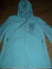 schöne Damen Jacke Softshelljacke mit Kapuze Gr. L 40 von SOCCX hellgrün