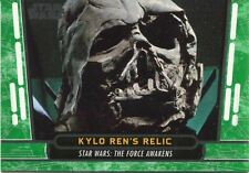 Star Wars 40th Anniversary Green Base Card #57 Kylo Ren's Relic