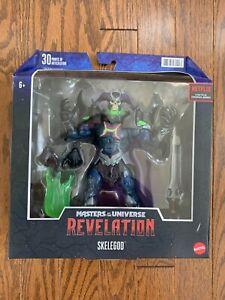 Masters of the Universe Revelation Netflix He-Man Skelegod Figure NEW MOC
