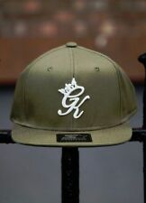 Snapback Solid 100% Cotton Hats for Men