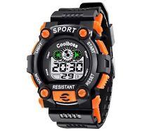 Waterproof Sports Digital Work watch Water resistant and shock proof Men Boy UK
