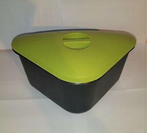 """Tupperware  """"Alles in Einem"""" Abfallbehälter für Bioabfall D 33 Rarität"""