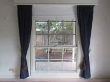 Unbranded Cotton Blend Pleated Drapes