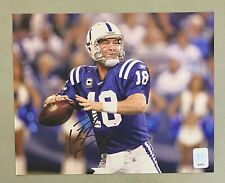 Peyton Manning Signed 8x10 Photo Autographed w/ Hologram Colts AUTO